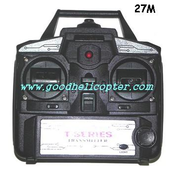 mjx-t-series-t04-t604 helicopter parts transmitter (27M)