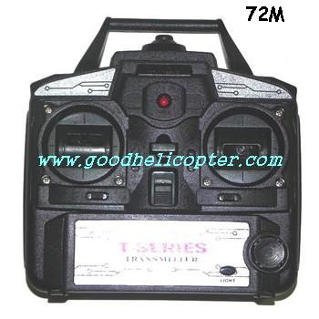 mjx-t-series-t04-t604 helicopter parts transmitter (72M)