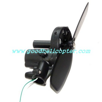 mjx-t-series-t11-t611 helicopter parts tail motor + tail motor deck + tail blade