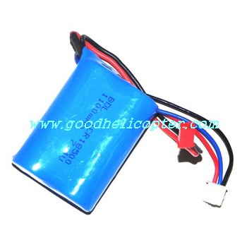 mjx-t-series-t11-t611 helicopter parts battery 7.4V 1500mAh