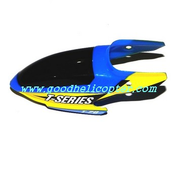 mjx-t-series-t20-t620 helicopter parts head cover (blue color)