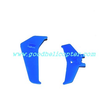 mjx-t-series-t20-t620 helicopter parts tail decoration set (blue color)