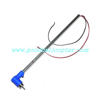 mjx-t-series-t20-t620 helicopter parts blue color tail set (tail big boom + tail motor + blue color tail motor deck)