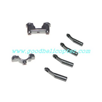 mjx-t-series-t43-t43c-t643-t643c helicopter parts fixed set for tail support pipe and tail decoration set
