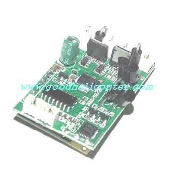 mjx-t-series-t43-t43c-t643-t643c helicopter parts pcb board
