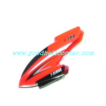 mjx-t-series-t54-t654 helicopter parts head cover (red color)