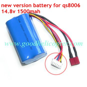gt8006-qs8006-8006-2 helicopter parts battery 14.8V 1500mAh (new version)