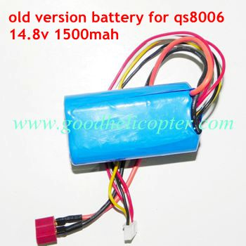 gt8006-qs8006-8006-2 helicopter parts battery 14.8V 1500mAh (old version)