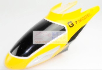 gt9012-qs9012 helicopter parts head cover (yellow color)