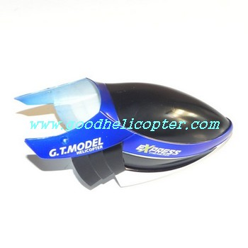 gt9018-qs9018 helicopter parts head cover (blue color)