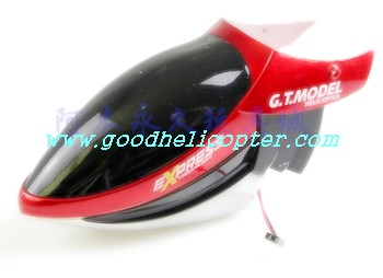 gt9018-qs9018 helicopter parts head cover (red color)