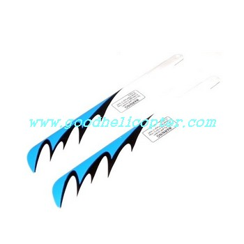 gt9018-qs9018 helicopter parts main blades (blue color)