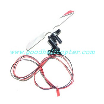 sh-8828 helicopter parts tail motor + tail motor deck + tail light + red color tail blade