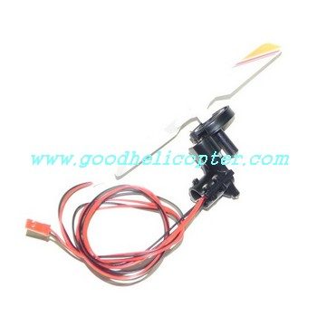 sh-8828 helicopter parts tail motor + tail motor deck + tail light + yellow color tail blade