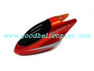 double-horse-9098/9102 helicopter parts head cover (red color)