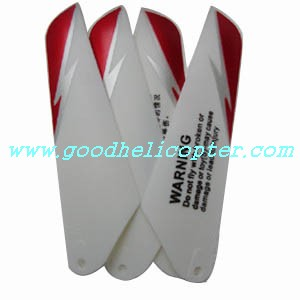 double-horse-9098/9102 helicopter parts main blades (red color)