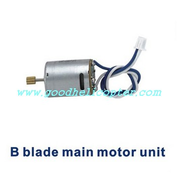 shuangma-9101 helicopter parts main motor B with long shaft