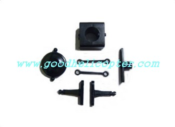shuangma-9101 helicopter parts fixed set nose tail tube fixed