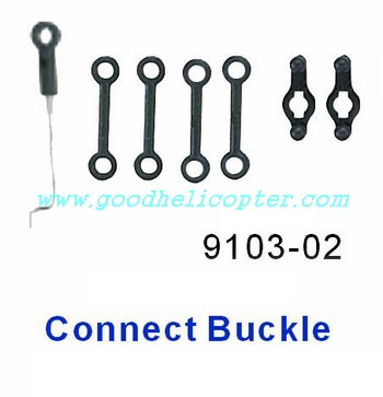 shuangma-9103 helicopter parts connect buckle set 7pcs