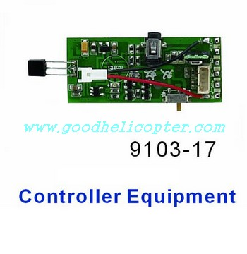 shuangma-9103 helicopter parts pcb board