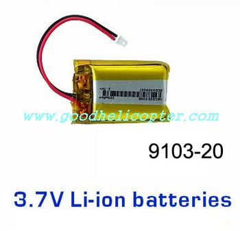 shuangma-9103 helicopter parts battery 3.7V 300mAh