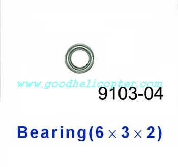 shuangma-9103 helicopter parts bearing