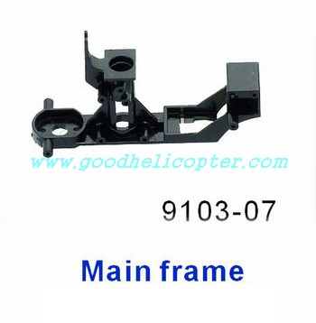 shuangma-9103 helicopter parts plastic main frame