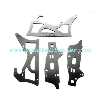 double-horse-9115 helicopter parts metal frame set 4pcs