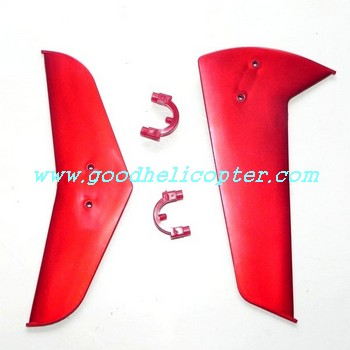 double-horse-9115 helicopter parts tail decoration set (red color)