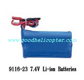 shuangma-9116 helicopter parts battery 7.4V 650mAh