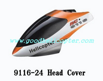 shuangma-9116 helicopter parts head cover (orange color)