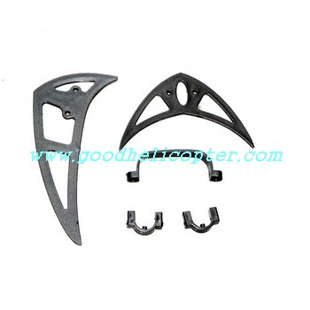 shuangma-9117 helicopter parts tail decoration set