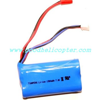 shuangma-9117 helicopter parts battery 7.4V 1300mAh