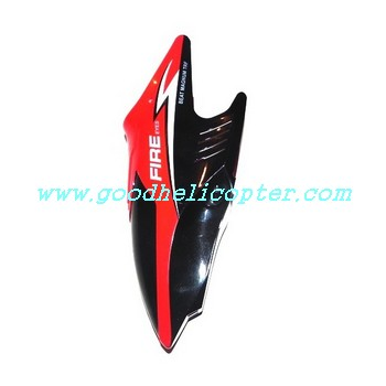 subotech-s902-s903 helicopter parts head cover (red color)