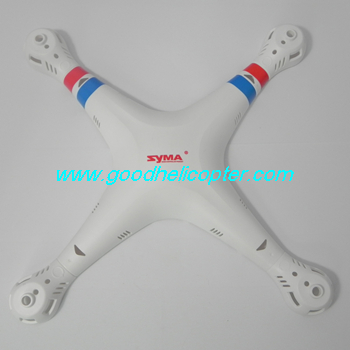 SYMA-X8HC-X8HW-X8HG Quad Copter parts Upper body cover (white color)