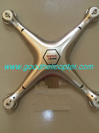 SYMA-X8HC-X8HW-X8HG Quad Copter parts Upper body cover (golden color)