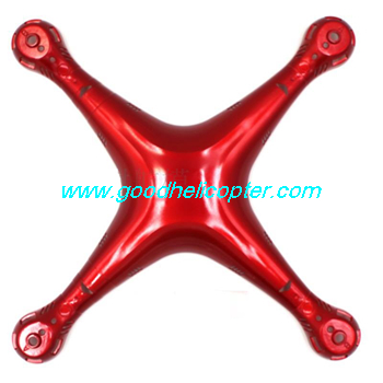 SYMA-X8HC-X8HW-X8HG Quad Copter parts Upper body cover (red color)