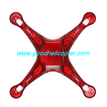 SYMA-X8HC-X8HW-X8HG Quad Copter parts Lower body cover (red color)