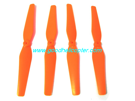 SYMA-X8HC-X8HW-X8HG Quad Copter parts Main Blades propellers (orange color)