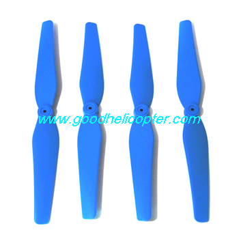 SYMA-X8HC-X8HW-X8HG Quad Copter parts Main Blades propellers (blue color)