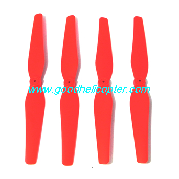 SYMA-X8HC-X8HW-X8HG Quad Copter parts Main Blades propellers (red color)