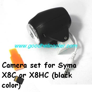 SYMA-X8HC-X8HW-X8HG Quad Copter parts X8C and X8HC Camera set + TF card + card reader (black color)