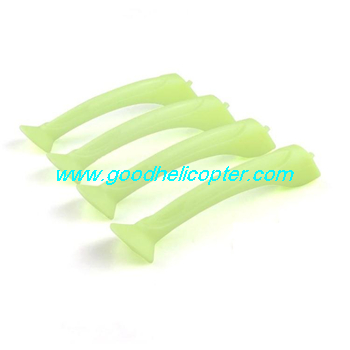 SYMA-X8HC-X8HW-X8HG Quad Copter parts Undercarriage (Fluorescent green color)