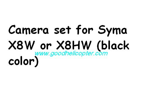 SYMA-X8HC-X8HW-X8HG Quad Copter parts X8W and X8HW Camera set + TF card + card reader (black color)