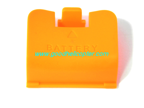 SYMA-X8HC-X8HW-X8HG Quad Copter parts Fixed cover for battery case (orange color)