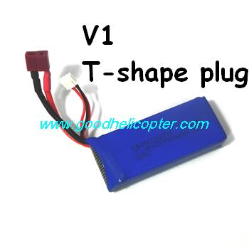 SYMA-X8HC-X8HW-X8HG Quad Copter parts 7.4V 2000mah battery (V1 T-shaped plug)