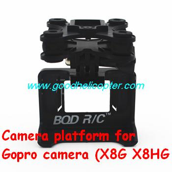 SYMA-X8HC-X8HW-X8HG Quad Copter parts Camera platform for Gopro camera