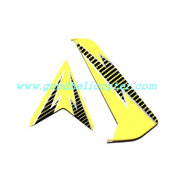 SYMA-S032-S032G-S032A helicopter parts tail decoration set (yellow-black color)