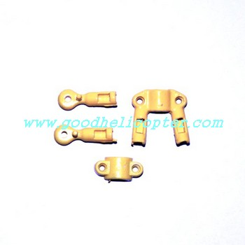 SYMA-S032-S032G-S032A helicopter parts fixed set for tail decoration set and tail support pipe (yellow color)