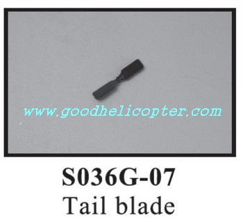 SYMA-S036-S036G helicopter parts tail blade
